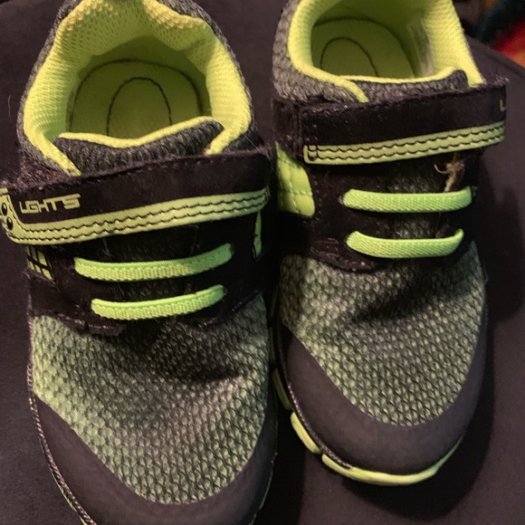 3709e1e9 Size 8 (boy toddler) shoes.